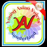 YAV logo 2021 25th Ribbon